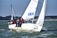 2017 - J80 Helly Hansen Warsash Spring Series